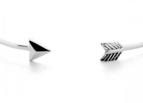 arrow silver bracelet