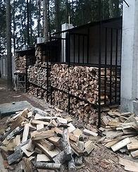 дровник дровница дровяник хранение дров на заказ