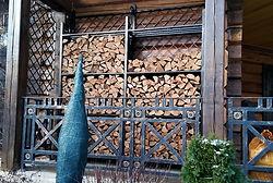 дровница хранение дров на заказ москва