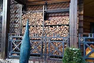 хранение дров дровник на заказ ковка москва