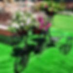 подставка под цветы, цветник, ковка под цветы, кронштейн для горшков, велосипед для цветов