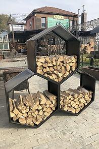 храненение дров дровница дровник на заказ
