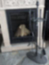 набор каминный кочерга совок щипцы щетка для камина