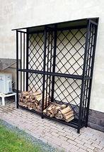 хранение дров дровница дровяник москва московская область