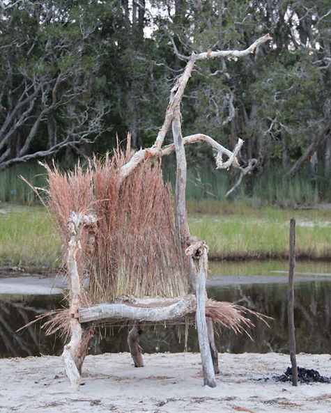 archival image, installation, Smiths Lakes, NSW.