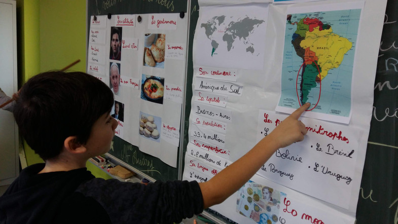 Présentations en géographie