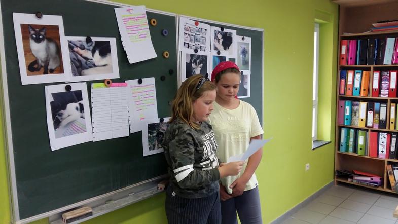 DAC de Camille et  Lore en P5-P6