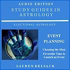 Astrology Audiobook Event Planning by Astrologer Lauren Delsack