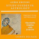 Astrology Audiobook Transits, Timing and Events by Astrologer Lauren Delsack