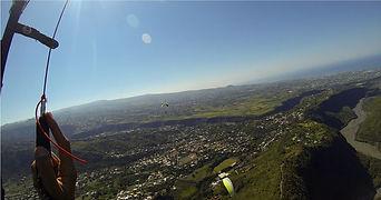 Baptême parapente biplace depuis le Dimitile avec Air Lagon Parapente Réunion