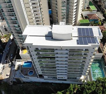 Energia solar reduz taxa de condomínio