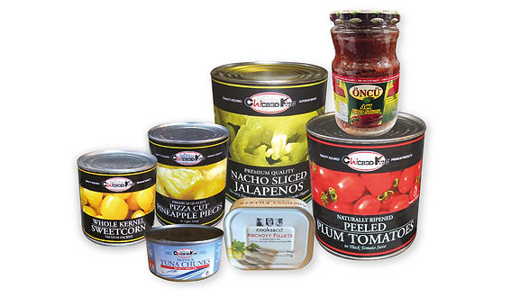 canned and jar foods