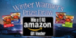ceekays winter warmers 'win an amazon vo