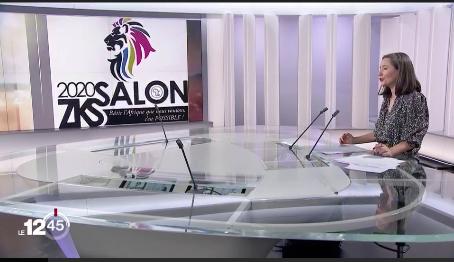 Le Salon couvert par la RTS 1!