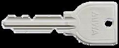 スペアキー スペア―キー 合い鍵 合鍵  U9 子鍵 子カギ カギ 鍵 純正 MIWA 美和ロック
