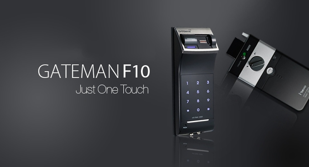 GATEMAN ゲートマン F10 指紋認証 電池錠