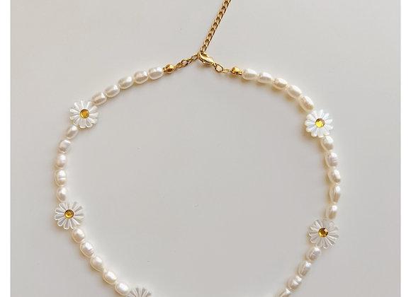 Chamomile Choker Necklace