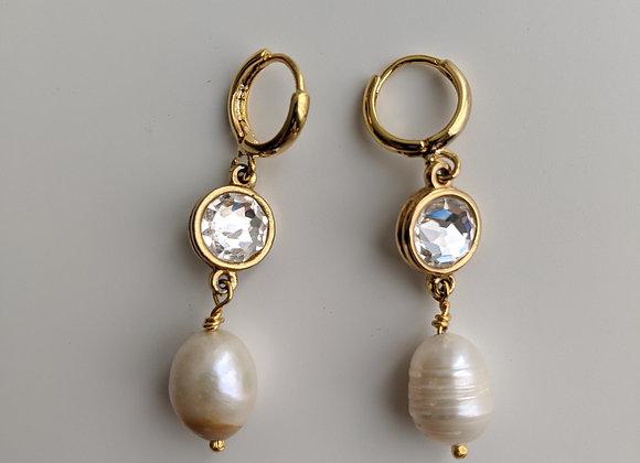 Anna's Crystal Earrings