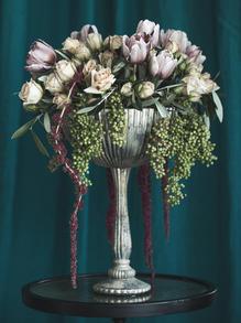Ilona - Custom Compote - Floral Portrait