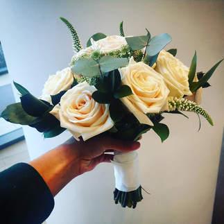 Lakeside Bridal Bouquet - Soft Rose Handtied