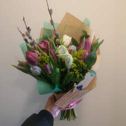 Women's Day Bouquet - Large Hand-tied