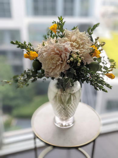 Fruit and Flowers - Grand Vase arrangement