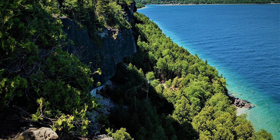Hiking in Bruce Peninsula