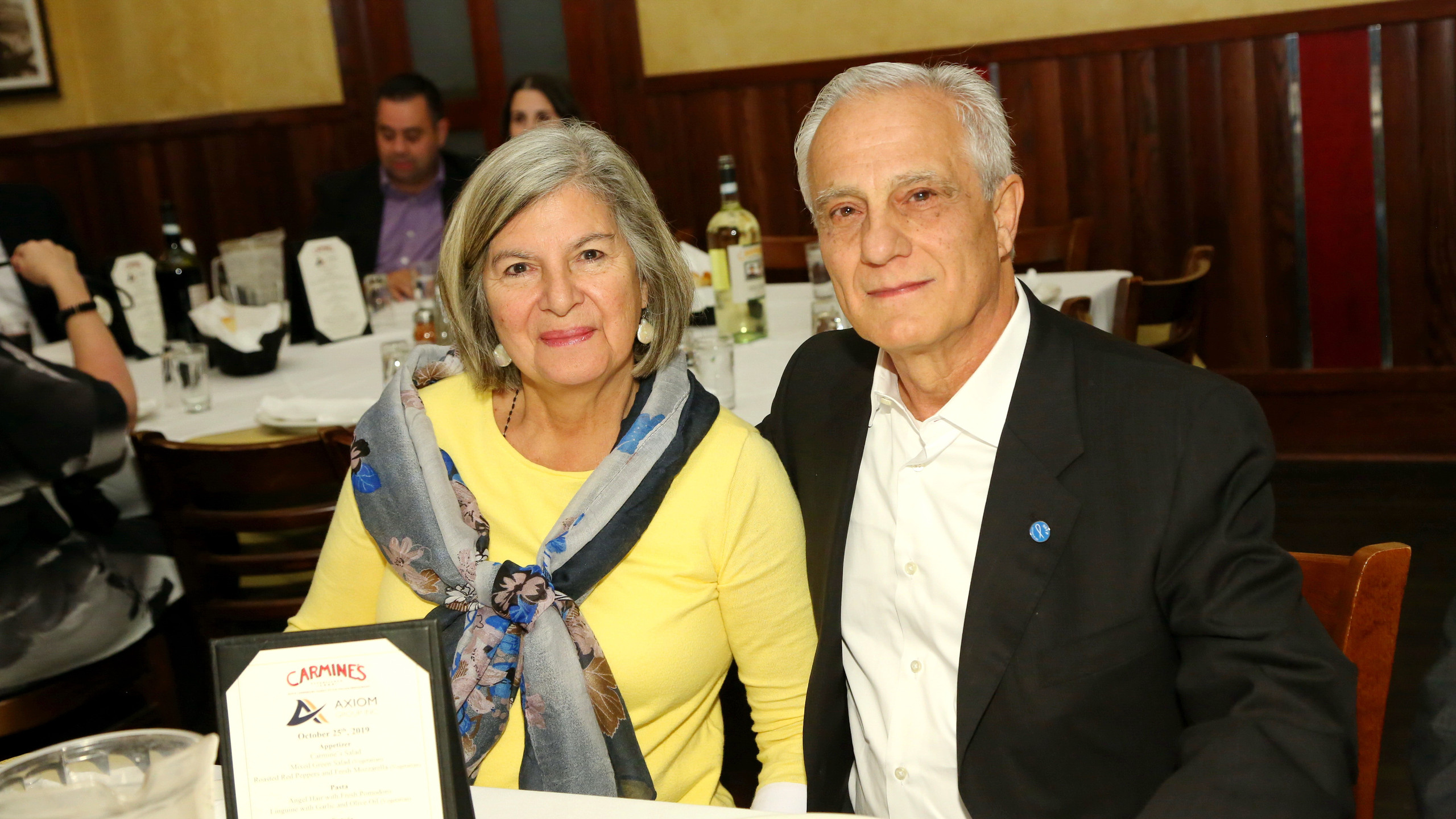 Angela and Rocco DiSerio