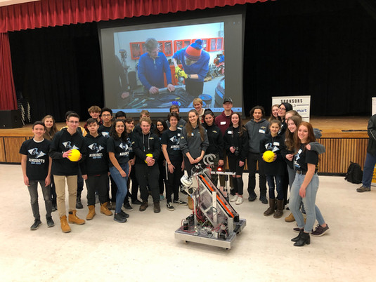 Axiom sponsors Aurora robotics team