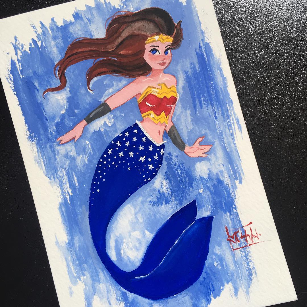 Wonder Woman Mermay