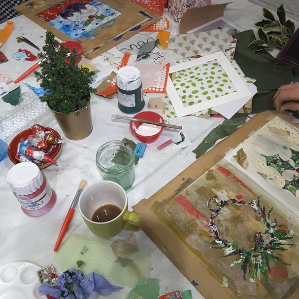 Christmas Cards Workshops