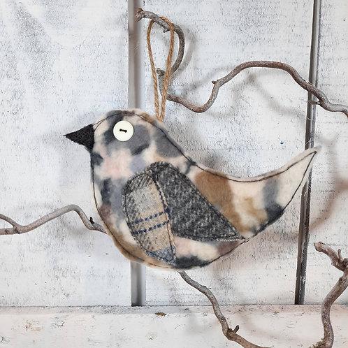 Felt bird decoration 8