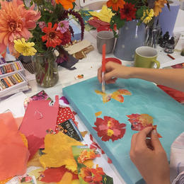 Summer Dahlias Workshop