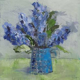 Sweet Blue Hyacinths