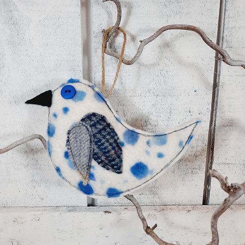 Felt bird decoration 10