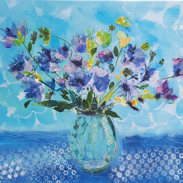Wild Cornflower Blues -