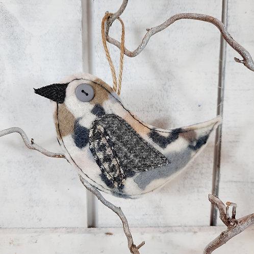 Felt bird decoration 9