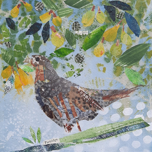 Partridge in a Pear Tree Christmas card