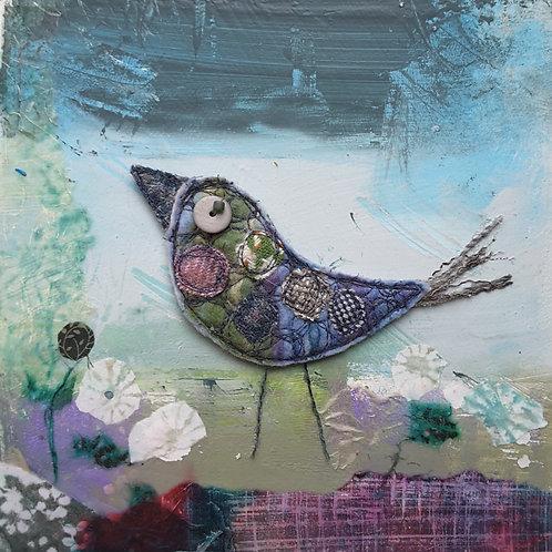 'Tweedie Bird' greeting card