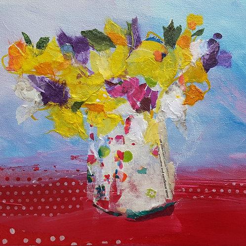 'Spring Joy' greeting card