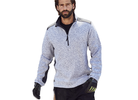 Pull polaire workwear avec zip