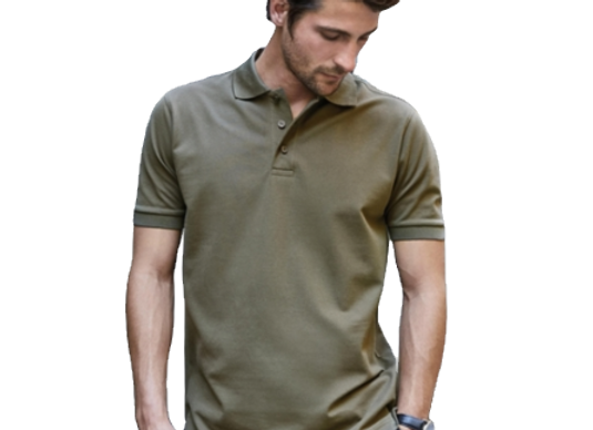 Polo homme luxury stretch