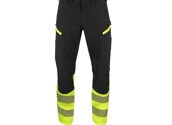 Pantalon 6528 polycoton + stretch-HV Classe 1