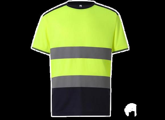 Tee-shirt jaune ou orange  HV CLASSE 2