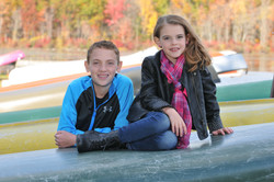 Fall outdoor portraits