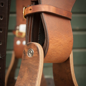 Detail Fender und Steigbügel