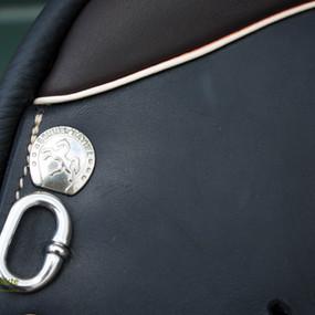 Detail Beschlag Silber