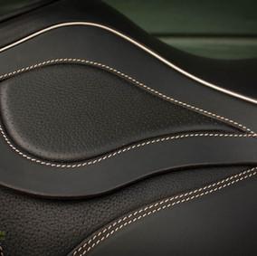 Einlage kleine Tasche aus performiertem Leder