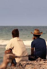 Projection Cuba un aller et un retour le
