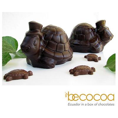 3 Figuras Chocolate 70% (varias formas y colores)